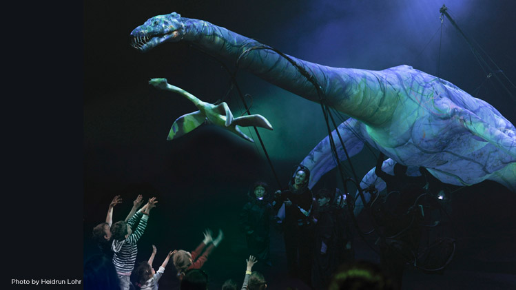 SF Family Tree: Erth's Prehistoric Aquarium