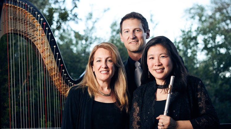 Betsy Schwarm and Phillip Stevens: Trios with Harp