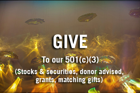 Give directly to our 501 C3 (stocks and securities, donor advised funds, grants, matching gifts)