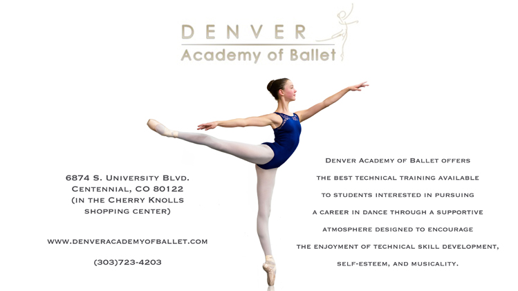Denver Academy of Ballet presents An Afternoon with Degas