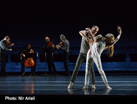 Wendy Whelan, Brian Brooks, and Brooklyn Rider