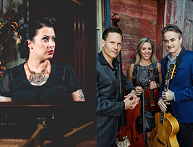 POSTPONED: Davina and the Vagabonds and Hot Club of Cowtown: The Finest Hour